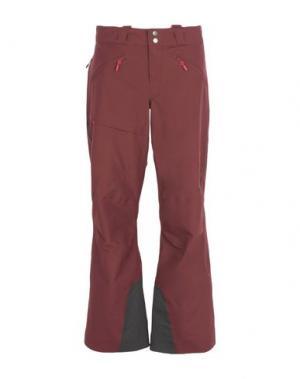 Лыжные брюки HAGLÖFS. Цвет: баклажанный
