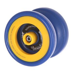 Йо-йо  Grind Machine Blue/Yellow Aero-Yo. Цвет: желтый,синий