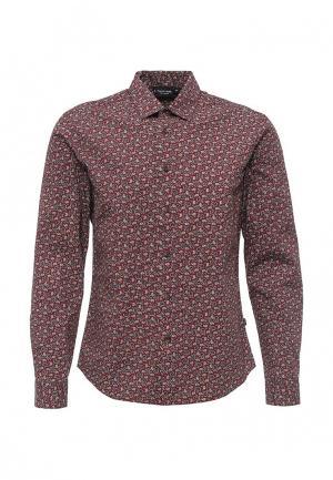 Рубашка Finn Flare. Цвет: бордовый
