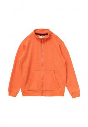 Олимпийка Sela. Цвет: оранжевый