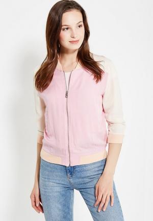 Куртка oodji. Цвет: разноцветный
