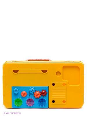 Набор инструментов Маленький мастер Shantou Gepai. Цвет: желтый, черный, синий, зеленый, серый, коричневый, голубой, красный