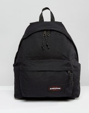 Eastpak Черный рюкзак с уплотнением PakR. Цвет: черный