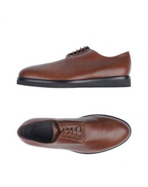 Обувь на шнурках UMIT BENAN. Цвет: какао
