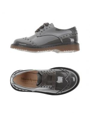 Обувь на шнурках MONTELPARE TRADITION. Цвет: свинцово-серый