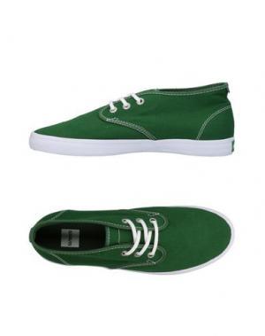 Низкие кеды и кроссовки GRAVIS. Цвет: зеленый