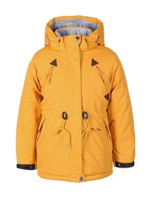 Куртка Arista. Цвет: горчичный