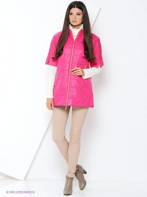Куртка удлиненная DizzyWay. Цвет: фуксия