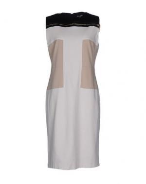 Платье до колена CHIARA D'ESTE. Цвет: слоновая кость