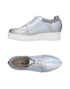 Обувь на шнурках 181 by ALBERTO GOZZI. Цвет: серебристый