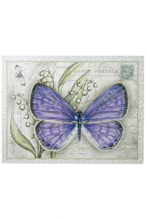Репродукция Бабочка MAGIC HOME. Цвет: сиреневый