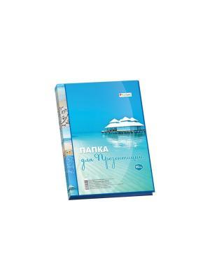 Папка для презентаций Piere Cardin Riviera Paradis 40 страниц Pierre. Цвет: голубой