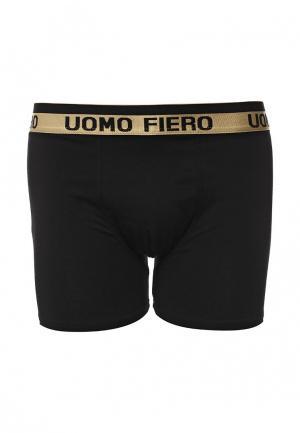 Трусы Uomo Fiero. Цвет: черный
