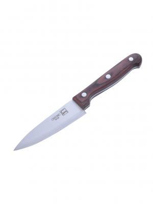 Нож столовый 11см MARVEL.. Цвет: коричневый, серебристый