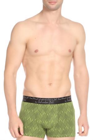 Трусы Salvador Dali. Цвет: зеленый