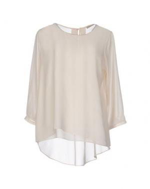 Блузка CASHMERE COMPANY. Цвет: слоновая кость