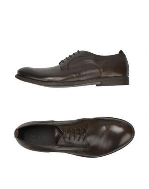 Обувь на шнурках PAWELK'S. Цвет: какао
