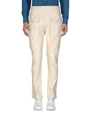 Повседневные брюки PUBLISH. Цвет: слоновая кость