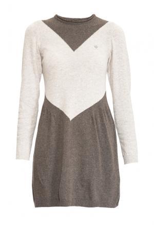 Трикотажное платье 153111 Sos Chic. Цвет: разноцветный