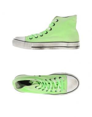 Высокие кеды и кроссовки 2STAR. Цвет: светло-зеленый