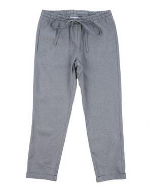 Повседневные брюки SIMONETTA. Цвет: серый