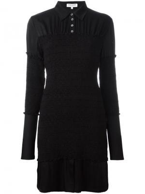 Платье-рубашка Opening Ceremony. Цвет: чёрный