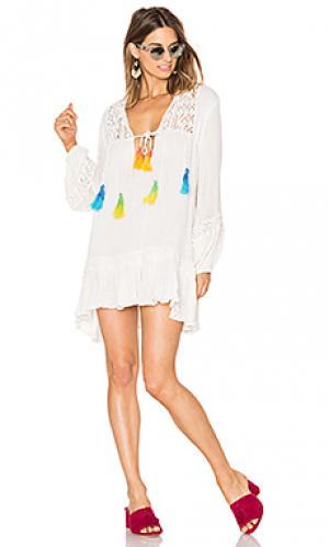 Платье malva Jens Pirate Booty Jen's. Цвет: белый