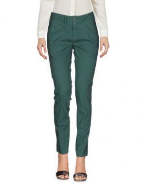 Повседневные брюки MANILA GRACE. Цвет: зеленый