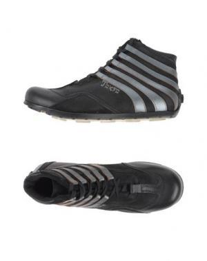Высокие кеды и кроссовки CULT. Цвет: стальной серый