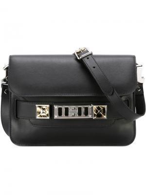 Мини сумка на плечо PS11 Proenza Schouler. Цвет: чёрный