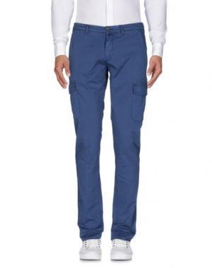 Повседневные брюки BRIGLIA 1949. Цвет: синий