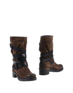 Полусапоги и высокие ботинки JANET SPORT. Цвет: коричневый