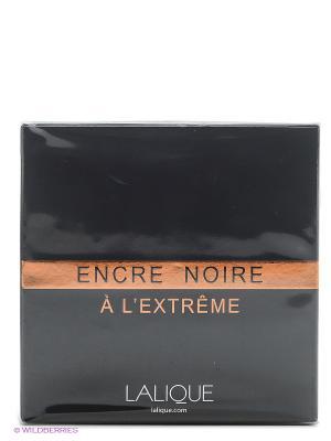 Парфюмерная вода Encre Noire a L Extreme EDP 100 ML SPRAY LALIQUE. Цвет: прозрачный