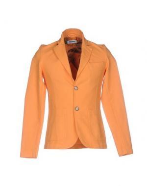 Пиджак STILOSOPHY INDUSTRY. Цвет: оранжевый