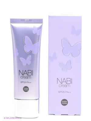Крем улучшающий цвет лица Наби для проблемной кожи Holika. Цвет: сиреневый