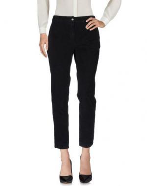 Повседневные брюки 0039 ITALY. Цвет: черный