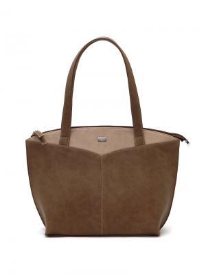 Сумка Solo true bags. Цвет: коричневый