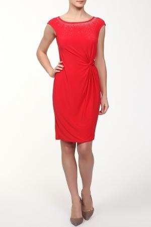 Платье M&L Collection. Цвет: красный