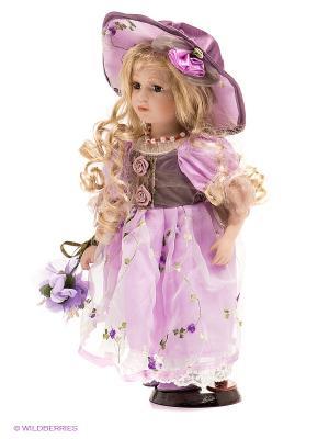 Кукла фарфоровая Ивона Lisa Jane. Цвет: сиреневый