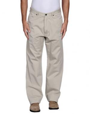 Джинсовые брюки SURFACE TO AIR. Цвет: бежевый