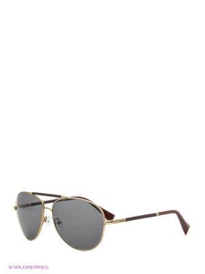 Солнцезащитные очки BLD 1637 401 Baldinini. Цвет: бордовый, золотистый