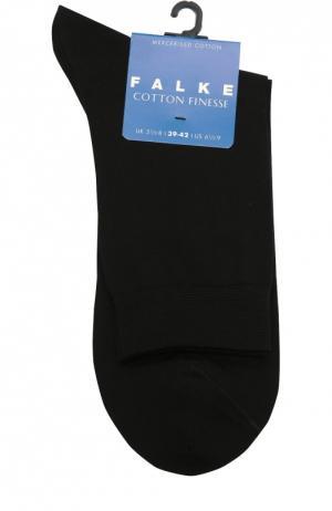 Носки Cotton Finesse Falke. Цвет: черный
