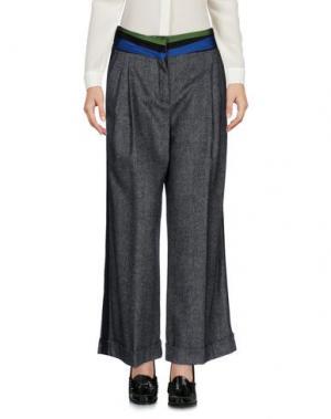 Повседневные брюки CAPUCCI. Цвет: черный