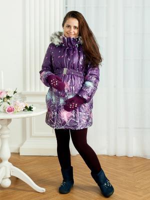 Куртка МАМАРАДА. Цвет: фиолетовый