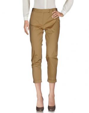 Повседневные брюки NORMALUISA. Цвет: верблюжий