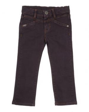 Джинсовые брюки EDDIE PEN. Цвет: баклажанный