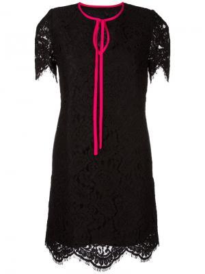 Lace dress Marco Bologna. Цвет: чёрный