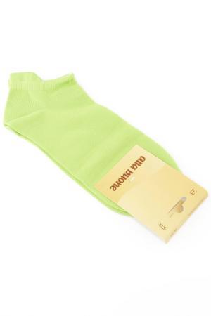 Носки ALLA BUONE. Цвет: зеленый