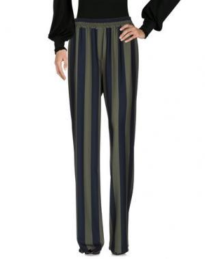 Повседневные брюки GUTTHA. Цвет: зеленый