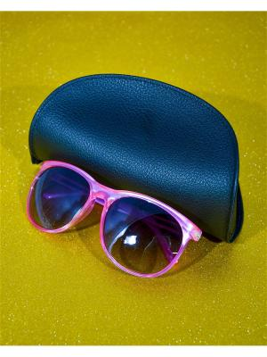 Солнцезащитные очки Bizon. Цвет: розовый